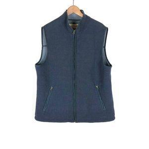 L. L. Bean Men's Fleece Vest Blue Sz XL